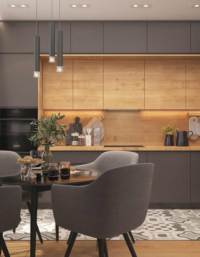 cucina ristrutturazione appartamento