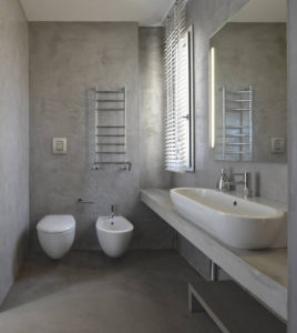 bagno_cemento - interior design