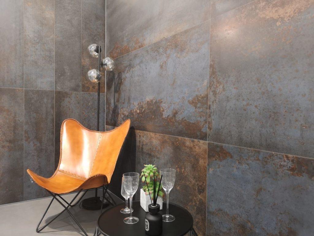 interior design-rivestimento METALLO