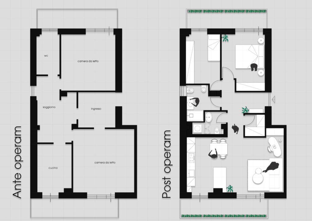 Architecture & Styling - Architetto Roma ristrutturazione-appartamento-eur-1024x725