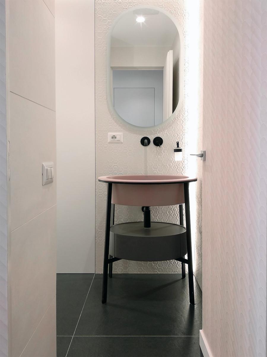 ristrutturazione appartamento - bagno ospiti