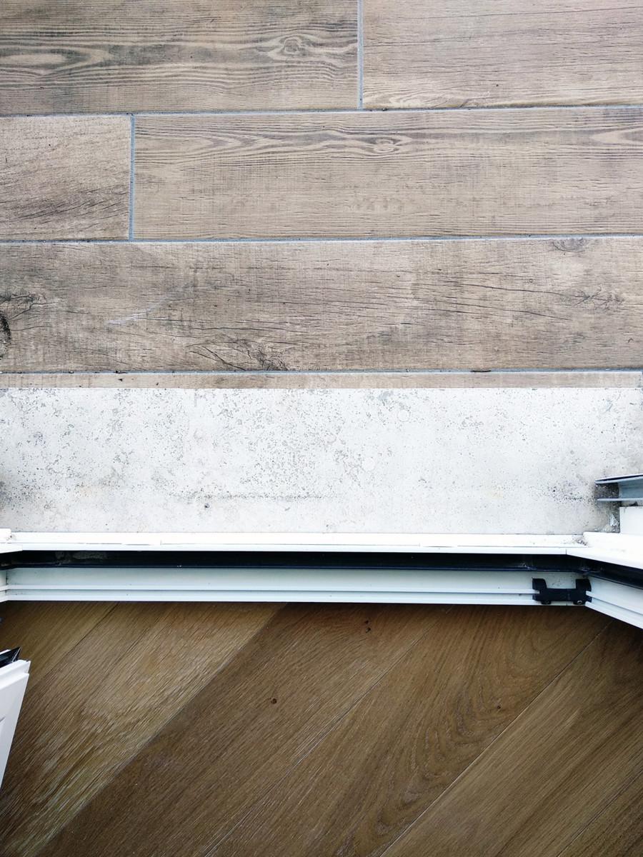 ristrutturazione appartamento pavimenti balcone e soggiorno