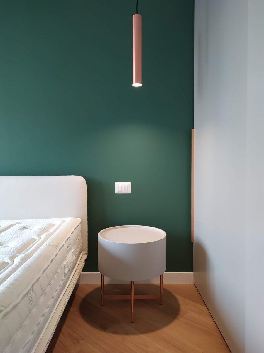 architetto roma- camera da letto